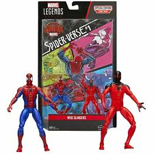 Marvel Legends Web Slingers SPIDER-MAN, SCARLET SPIDER and Special Edition Comic