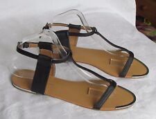 NEW Dorothy Perkins Ladies Black Gladiator Style Sandals Size 8