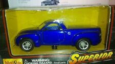 DIECAST MODEL CAR PICKUP BLUE MAISTO SUPERIOR CHEVROLET PICKUP TRUCK