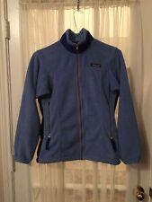 Patagonia Polartec Regulator USA  Fleece Full Zip Womens Jacket small blue