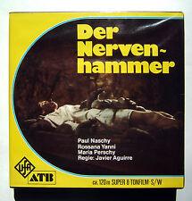 UfA / ATB 543-3, Super 8 S/W Film, Ton, 120 m, Der Nervenhammer, Teil 2, selten.