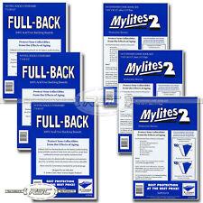 150 - Full-Back & Mylites 2 Standard Mylar Comic Bags & 42pt Boards by E. Gerber