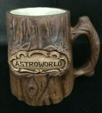 Vintage Astroworld Amusement Theme Park Collector's Coffee Mug - Texas