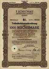 F. Schichau AG Elbing Elblag 1943 Bremerhaven Danzig Weser Werft 1000 RM - Lit.H