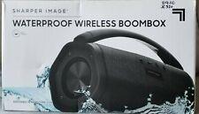 Sharper Image Waterproof Floating Wireless Boombox SBT727BK