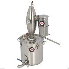 25L Alcohol Stainless Still Distiller Home Brew Kit Moonshine Wine Making Boiler