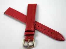 Bracelets de montre rouges Hirsch