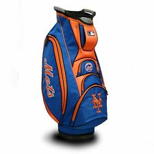 Brand New Team Golf Mlb New York Mets Victory Cart Bag 96773