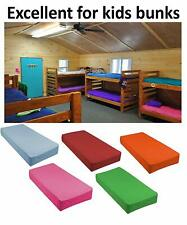 """Cot Size 30"""" x 75"""" Fitted Sheet For Camp Bunk Beds/Rvs/Guest Beds"""