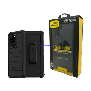 Otterbox Defender Pro Series Case + Holster for Samsung Galaxy S20+ Plus Black
