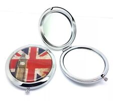 LONDON Union Jack Compact Travel Mirror Pocket Cosmetic SOUVENIR Novelty GIFT UK