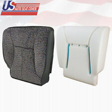 2000 2001 Dodge Ram 2500 SLT Driver Bottom Cloth Seat Cover & Foam Dk Gray Agate