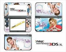 SKIN STICKER AUTOCOLLANT - NINTENDO NEW 3DS XL - REF 189 VIOLETTA
