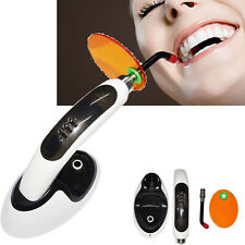 recharge 1500MW Wireless Cordless LED Dental Curing Light Lamp w Teeth Whitening