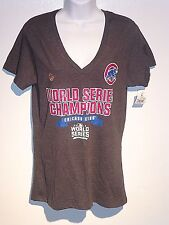 Women's Chicago Cubs  World Series Chanpions T Shirt Lg new with tags