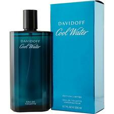 Cool Water By Davidoff 6.7 Oz / 6.8 Oz EDT Spray New In Box Cologne For Men