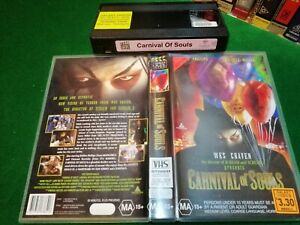 CARNIVAL OF SOULS - Wes Craven - 1988 RARE Oz Video Box Office VHS Issue HORROR