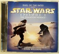 STAR WARS - THE PHANTOM MENACE by JOHN WILLIAMS ♦ USA PROMO CD-Maxi ♦