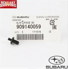 Subaru Legacy Crosstrek Outback Impreza BRZ Clip D5 Genuine OEM 909140059