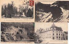 Lot 4 cartes postales anciennes JURA LONS-LE-SAUNIER 1