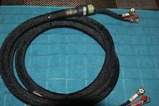 New listing Kimber Kable Monacle X 8 Foot Long With Wbt-0645 Connectors One Cable Only