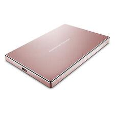 Lacie STFD2000406 Porsche Design 2TB USB-C Mobile Hard Drive, Rose Gold