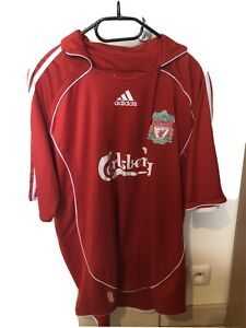 maillot foot liverpool  2007 2008