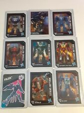 LOT OF 9 TRANSFORMERS CHARACTER TRADING CARDS GENERATIONS 2014 2015 HASBRO
