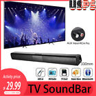Sound Bar Speaker Stereo System TV Home Theater For LG Samsung Sony Bluetooth