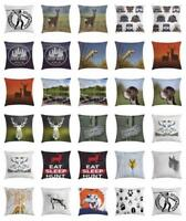 Hunting Throw Pillow Cases Cushion Covers Home Decor 8 Sizes Ambesonne