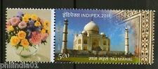India 2011 INDIPEX Personalized My stamp Taj Mahal Islamic Mosque Architecture