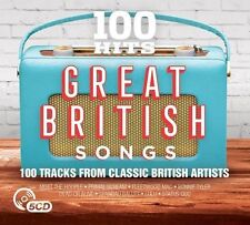Various - 100 Hits: Great British Songs (2017)  5CD  NEW/SEALED  SPEEDYPOST