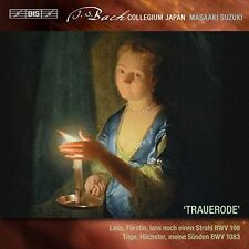 J.S.BACH/SECULAR CANTATAS VOL.6: 'TRAUERODE', New Music