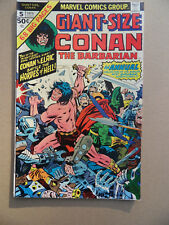 Giant - Size Conan 5 . J.Kirby Cover . Marvel 1975 .  FN / VF