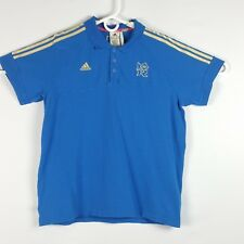 London 2012 Summer Olympic Games Adidas Organic Cotton Polo Blue (XL) Golf Shirt