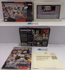 Console Game Gioco SUPER NINTENDO SNES 16 BIT Play NTSC USA Ocean - ROBOCOP 3 -