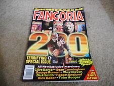 #200 FANGORIA horror movie magazine (UNREAD) - FREDDY KRUEGER