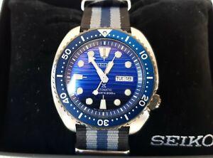 Seiko Prospex Blue (Save The Ocean Turtle) SRPC91