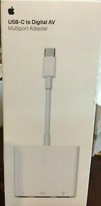 Original Apple USB-C Digital AV Multiport Adapter MJ1K2AM/A
