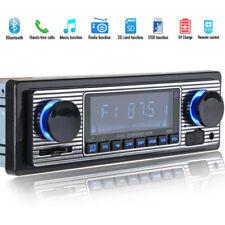 Auto Bluetooth Vehicle MP3 Player USB AUX Stereo USB FM Radio In Dash Receiver