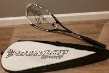 Dunlop Hotmelt Pro Tennis Racket Squash Titanium with Original Bag - Excellent