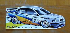 Volvo S40 Racing Rickard Rydell/Kelvin Burt BTCC Race Motorsport Sticker / Decal