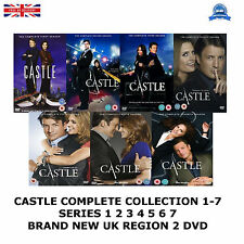 CASTLE COMPLETE COLLECTION 1-7  SERIES 1 2 3 4 5 6 7 NEW AND SEALED UK R2 DVD
