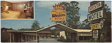 RIDGELAND, SC Siesta Motel 1960s chrome wide view Best Western