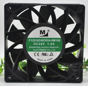 F12038Z40D024-SM100 24V 1.0A 24w 12038 12CM 2-lines Inverter cooling fan