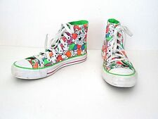 Converse All Star Cartoon People Collage Canvas Hi Top Sneakers Shoes Womens 6