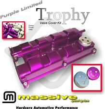 MSS Trophy Engine Cam Valve Cover Kit Focus SVT ST170 2.0 w SS Hardware Cap