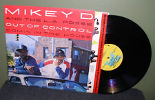 "Mikey D and & the LA Posse ""Out of Control"" 12"" NM OOP Paul C Large Professor"