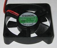 Sunon 45 mm Quiet Cooling KDE Fan - 12 V - 5 CFM - 22 dB - KDE1245PFS3