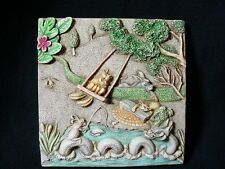 Harmony Kingdom Lord Byron's Secret Garden Swing Time Magnetic Tile Nib